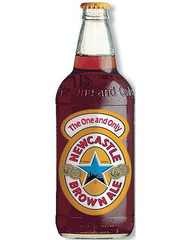 englisches Bier Newcastle Brown Ale Bierflasche