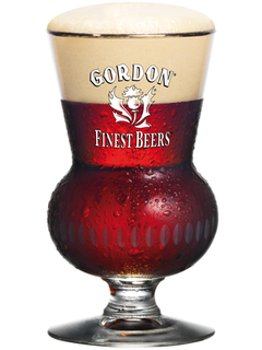 belgisches Bier Gordon Finest Scotch Ale Bierglas