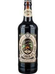 englisches Bier Samuel Smith Organic Chocolate Stout in der 35,5 cl Bierflasche