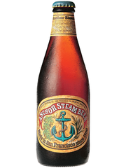 amerikanisches Bier Anchor Steam Beer Bierflasche