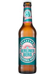deutsches Craft Beer Berliner Berg California Wheat in der 33cl Bierflasche