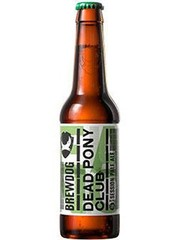 schottisches Bier BrewDog Dead Pony Club in der 33cl Bierflasche