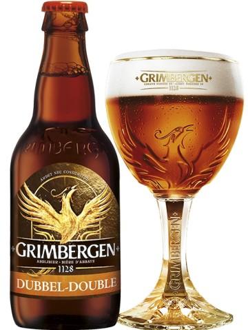Grimbergen Bierglas Bier Kelch 33cl