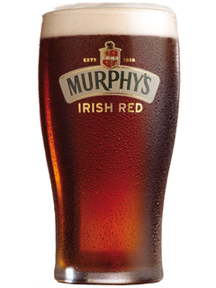 irisches Bier Murphy's Irish Red Bierglas